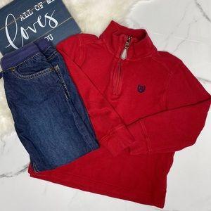 🎉Bundle toddler boy pullover denim jeans A10